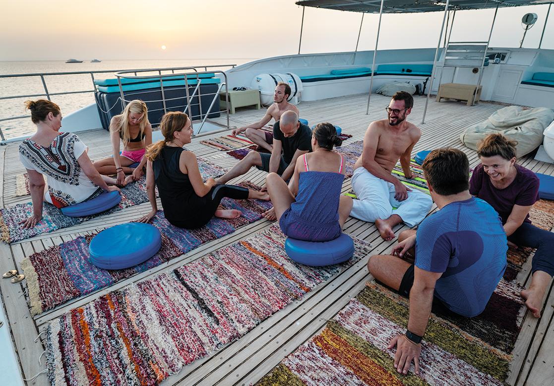 Yoga Egypte Dolfijnreis